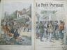 LE PETIT PARISIEN 1901 N 656 LA PROCLAMATION DE LORD KITCHENER