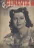 CINEVIE 1945 N 11 MARGARET LOCKWOOD - EDWIGE FEUILLERE