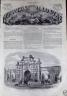 L'UNIVERS ILLUSTRE 1866 N 535 LES FORTIFICATIONS D'ANVERS