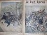 LE PETIT JOURNAL 1900 N 494 GRAVE ACCIDENT CAUSE PAR DES MOTOCYCLES