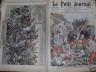 LE PETIT JOURNAL 1906 N 828 LA CATASTROPHE DU FORT DE MONTFAUCON