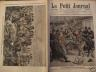 LE PETIT JOURNAL 1907 N 847 LE CRIME DE L'AVENUE DE CHOISY