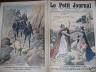 LE PETIT JOURNAL 1911 N 1073 LA COURSE PARIS- ROME- TURIN