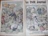LE PETIT JOURNAL 1912 N 1134 LE JUBILE DE LA ROSE