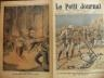 LE PETIT JOURNAL ILLUSTRE 1910 N 1049 MASSACRE A OUADAÏ, TCHAD