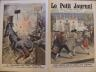 LE PETIT JOURNAL 1913 N 1168 DUEL MORTEL AU THEATRE