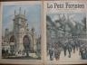 LE PETIT PARISIEN 1905 N 868 L'AMIRAL PAUL JONES