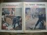 LE PETIT JOURNAL ILLUSTRE 1928 N 1967 UN POMPIER INCENDIAIRE