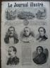 LE JOURNAL ILLUSTRE 1869 N 259 PORTRAITS DU JOUR