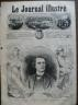 LE JOURNAL ILLUSTRE 1868 N 243 PORTRAIT D' ETIENNE ENAULT