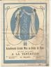 CATALOGUE MODE MAGASIN A LA TENTATION 1923