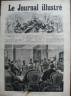 LE JOURNAL ILLUSTRE 1874 N 48 CONSEIL DE REVISION A PARIS