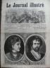 LE JOURNAL ILLUSTRE 1874 N 45 HAMLET :THEATRE DE L' OPERA