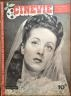 CINEVIE 1946 N 16 DANIELLE DARRIEUX -SIMONE SIMON -CLAUDE RENOIR