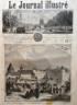 LE JOURNAL ILLUSTRE 1864 N 37 INCENDIE DU CHATEAU DUCAL D' ALTENBOURG