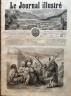 LE JOURNAL ILLUSTRE 1864 N 21 TROUBLES EN TUNISIE : LES DERVICHES DE TUNIS
