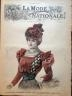 LA MODE NATIONALE 1897 N 46 CORSAGE FANTAISIE