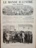 LE MONDE ILLUSTRE 1869 N 659 LES ELECTIONS DE PARIS 1869 : L'ADDITION DES VOTES