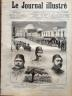 LE JOURNAL ILLUSTRE 1876 N 28 EVENEMENTS DE CONSTANTINOPLE LE SULTAN ABDUL-AZIZ