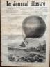 LE JOURNAL ILLUSTRE 1876 N 35 CATASTROPHE DU BALLON