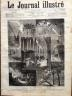 LE JOURNAL ILLUSTRE 1876 N 32 LE TERRIBLE ORAGE DU 24 JUILLET A PARIS