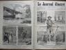 LE JOURNAL ILLUSTRE 1876 N° 46 LA DEMOLITION DE PARIS : AVENUE DE L' OPERA
