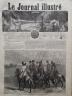 LE JOURNAL ILLUSTRE 1864 N 32 COSAQUES DE KOUBAN ET TCHERKESS DU CAUCASE