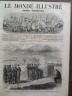 LE MONDE ILLUSTRE 1862 N 249 EXECUTION DU DESERTEUR WILLIAMM H.JOHNSON A FAIRFAX