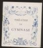 PROGRAMME THEATRE DU GYMNASE LES PARENTS TERRIBLES 1946