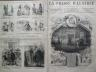 LA PRESSE ILLUSTREE 1876 N 416 THEATRE