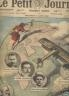 LE PETIT JOURNAL SUPPLEMENT ILLUSTRE 1920 N° 1538 LE TOUR DU MONDE EN AVION