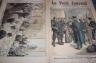 LE PETIT JOURNAL 1896 N 277 DESERTION DES ALSACIENS