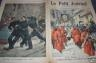 LE PETIT JOURNAL 1898 N 388 LES PENITENTS ROUGES