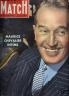 PARIS MATCH 1949 N 38MAURICE CHEVALIER INTIME