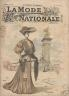 LA MODE NATIONALE 1904 N° 44 AVEC PATRON