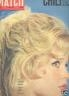 PARIS MATCH 1960 N 582 BRIGITTE BARDOT