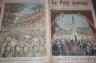 LE PETIT JOURNAL 1896 n 278 ARRIVEE DU TSAREWITCH A NICE