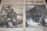 LE PETIT JOURNAL 1891 N 51 L'ACCIDENT DE MARLY- LE- ROY