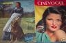 CINEVOGUE 1947 N 65 MARTHA VICKERS - GENE TIERNEY