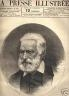 LA PRESSE ILLUSTREE 1879 N 557 VICTOR HUGO
