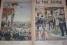 LE PETIT JOURNAL 1901 N 567 LE TSAR NICOLAS II EN FRANCE
