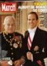 PARIS MATCH : RAINIER ET LE PRINCE ALBERT 1991