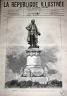 LA REPUBLIQUE ILLUSTREE 1884 N 213 LA STATUE DE DIDEROT