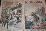 LE PETIT JOURNAL 1906 N 805 L'ERUPTION DU VESUVE... LA PANIQUE