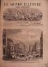 LE MONDE ILLUSTRE 1868 N 584 EMBELLISSEMENT DE PARIS