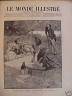 LE MONDE ILLUSTRE 1894 N° 1947 LES MOIS ILLUSTRES